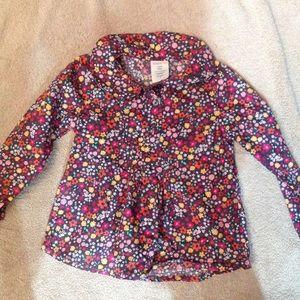 Girls sz 3T floral top